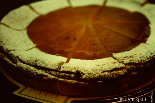 tarte fromage